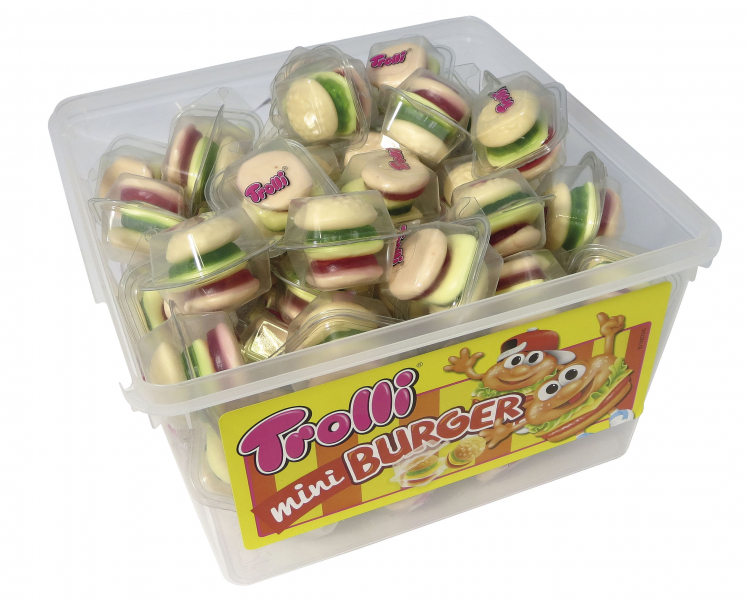 Trolli hamburger 9g