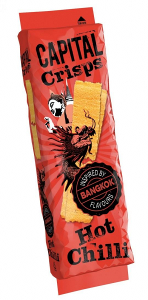 Capital Crisps 75g hot chilli